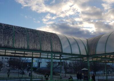 Čištění střech a opláštění